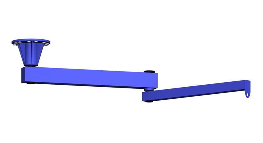 Ceiling Mounted Jib Crane (AJ360)