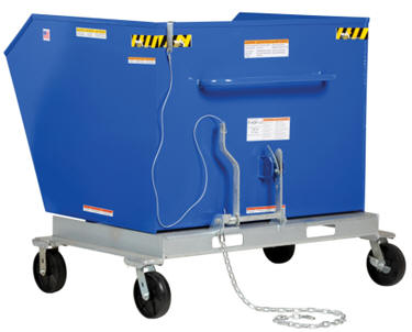 Portable Steel Hoppers - series P-HOP